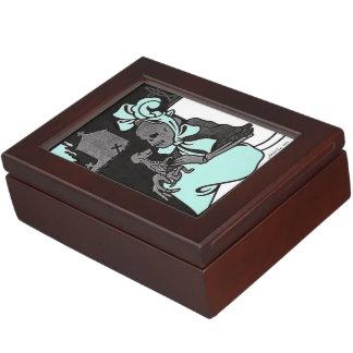 Skeleton Lady keepsake box