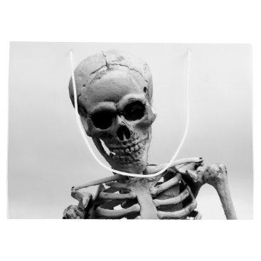 Halloween Themed Skeleton Large Gift Bag