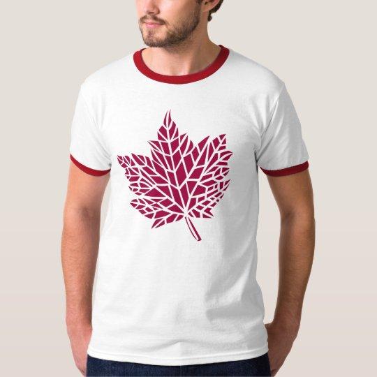 skeleton leaf (red) T-Shirt
