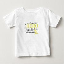 Skeleton Love Hand Halloween Funny Gift Baby T-Shirt