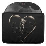 Skeleton Love Heart MacBook Pro Sleeve