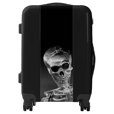 Halloween Themed Skeleton Luggage