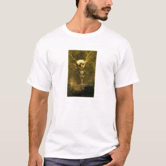 Skeleton Man by Odilon Redon T-Shirt
