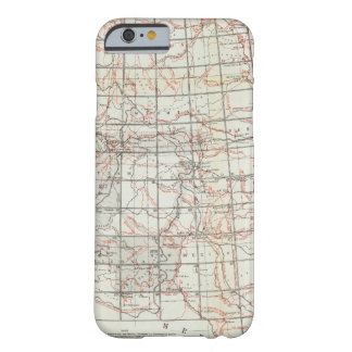 Skeleton Map Barely There iPhone 6 Case