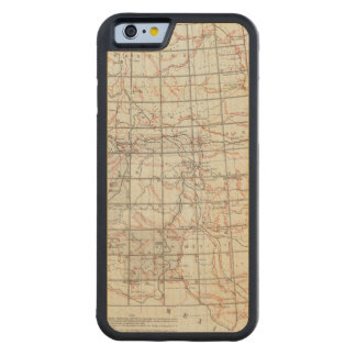 Skeleton Map Carved® Maple iPhone 6 Bumper