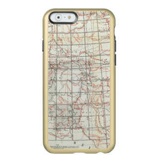 Skeleton Map Incipio Feather® Shine iPhone 6 Case