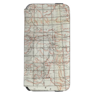 Skeleton Map iPhone 6/6s Wallet Case