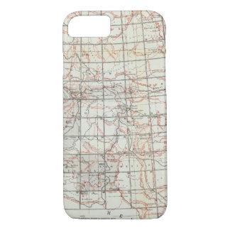 Skeleton Map iPhone 7 Case