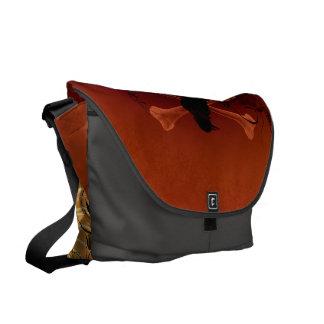 Skeleton Messenger Bag