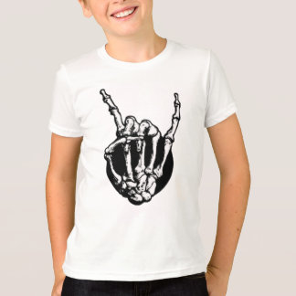 Skeleton Metal Fan T-Shirt