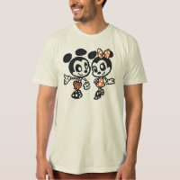Skeleton Mickey & Minnie T-Shirt