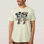 Skeleton Mickey & Minnie Tees
