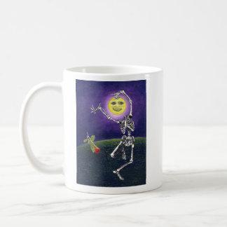 Skeleton Moon Mugs