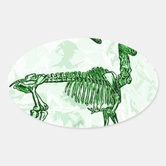 skeleton moose stickers