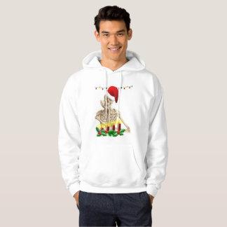 skeleton nightmare christmas mens hoody sweatshirt