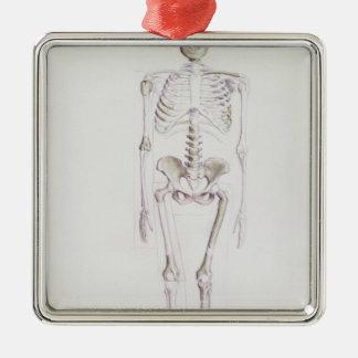 Skeleton of Australopithecus africanus Metal Ornament