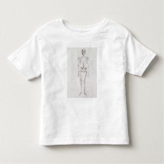 Skeleton of Australopithecus africanus Tee Shirt