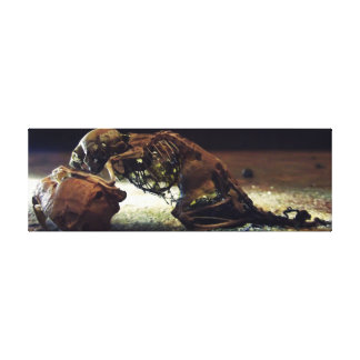 Skeleton of the Rat Canvas Print