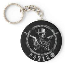 Skeleton Outlaw Key Rings