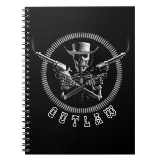 Skeleton Outlaw Note Books