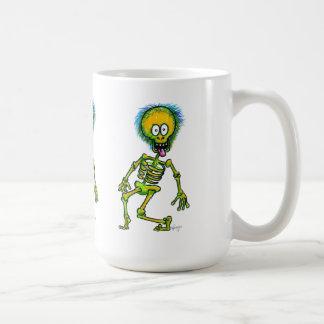 Skeleton Parade CoffeeMug Classic White Coffee Mug