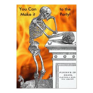 Skeleton Party Invitation