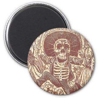 Skeleton Party Fridge Magnets