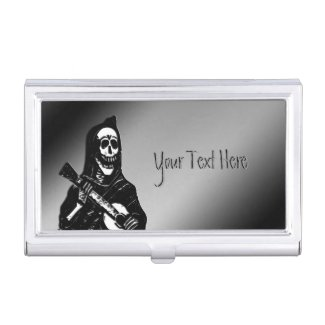 Skeleton Personal Business Card Case