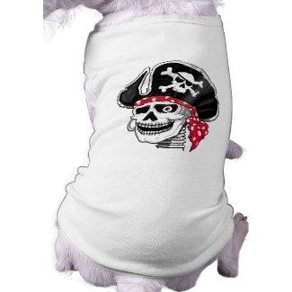 Skeleton Pirate petshirt