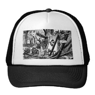 Skeleton Pirates circa 1951 Trucker Hat