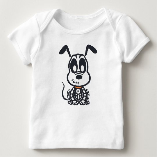 Skeleton Pluto Baby T-Shirt
