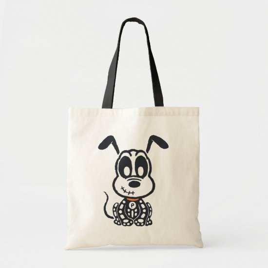 Skeleton Pluto Tote Bag