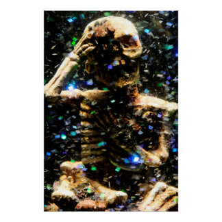 Skeleton Poster/Print Poster