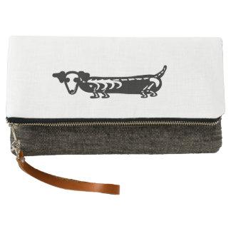 Skeleton Pup Wiener Dog Clutch