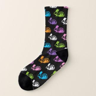 Skeleton Rabbits Socks