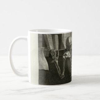 Skeleton Reading Coffee Mug