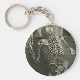 Skeleton Reading Keychain