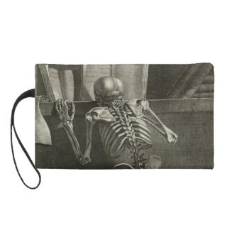 Skeleton reading wristlet