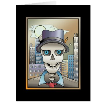 Skeleton Reporter Card