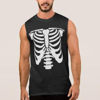 SKELETON - Rib Cage and Spinal Chord Sleeveless Shirt