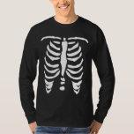 Skeleton rib cage shirt for Halloween