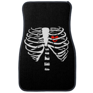 SKELETON RIBS CAR FLOOR MAT