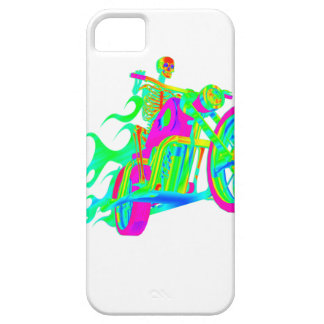 Skeleton Riding a Motorcycle iPhone SE/5/5s Case