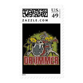Skeleton Rock Dummer Stamps