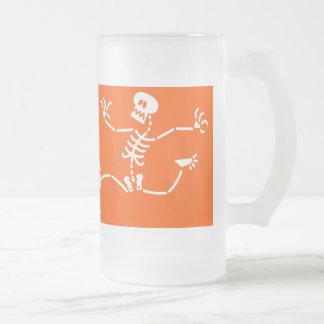 Skeleton Running Away Coffee Mugs