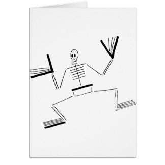 Skeleton Saint Card