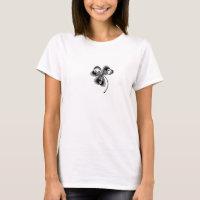 Skeleton Shamrock T-Shirt