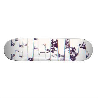 Skeleton Skateboard Deck