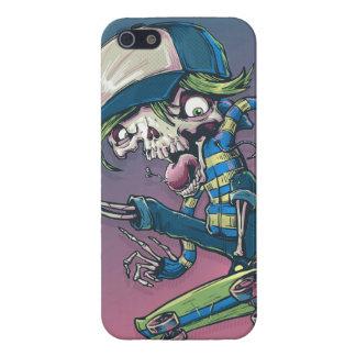 Skeleton Skateboarder Cases For iPhone 5
