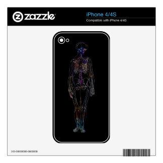 Skeleton Skin For iPhone 4